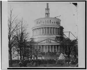 lincoln first inauguration 04 MAR 1861